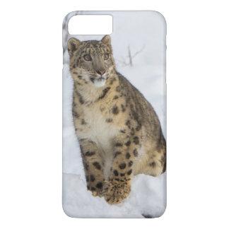Schnee-Leopard iPhone 7 Plus Hülle