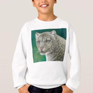 Schnee-Leopard scherzt Sweatshirt