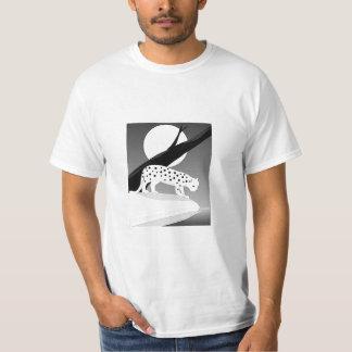Schnee-Leopard T-Shirt