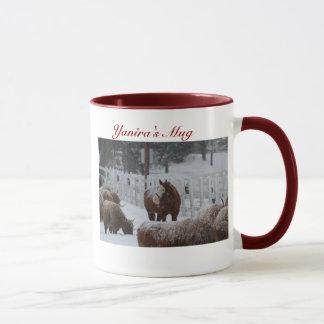 Schnee-Pferd, Yaniras Tasse