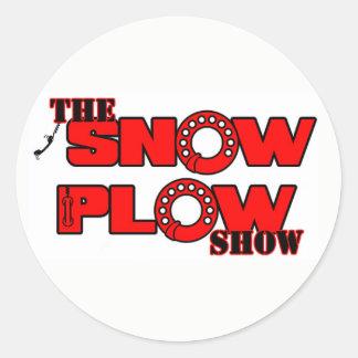 Schnee-Pflug-Show-Aufkleber durch Derreck