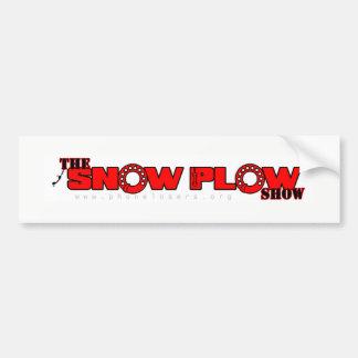 Schnee-Pflug-Show-Autoaufkleber Autoaufkleber