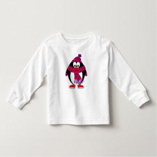 Schnee-Pinguin Kleinkind T-shirt