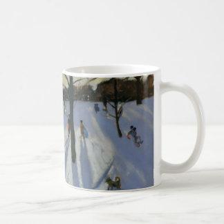 Schnee Rykneld Park Derby 2001 Kaffeetasse