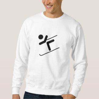 Schnee-Skifahrer Sweatshirt