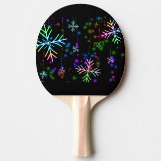 Schnee-Stern Tischtennis Schläger