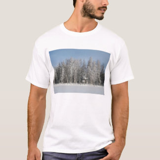 Schnee-Strand T-Shirt