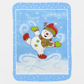 Schnee-Tanzen Kinderwagendecke