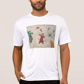 Schneeball-Kampf T-Shirt