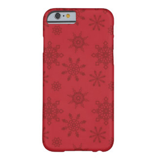 Schneeflocke-BlackBerry mutige kaum There™ Barely There iPhone 6 Hülle