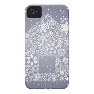 Schneeflocke das Haus iPhone 4 Hülle