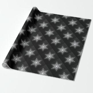 Schneeflocke-Geschenk-Verpackung Geschenkpapier
