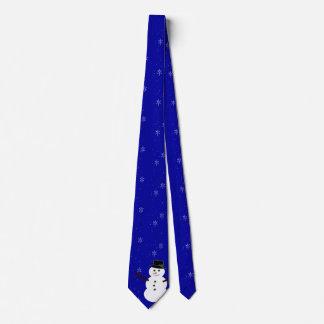 Schneeflocke-Krawatte Personalisierte Krawatten