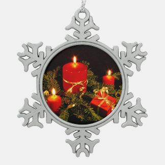 Schneeflocke OranamentHoliday Verzierungen, Schneeflocken Zinn-Ornament