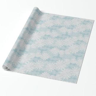 Schneeflocke-Packpapier Geschenkpapierrolle