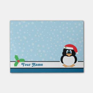 Schneeflocke-Pinguin-Weihnachtenposten-it® Post-it Klebezettel