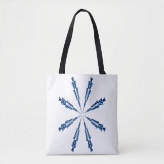 Schneeflocke Tasche