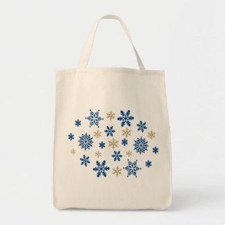 Schneeflocke-Taschen-Tasche Tragetasche