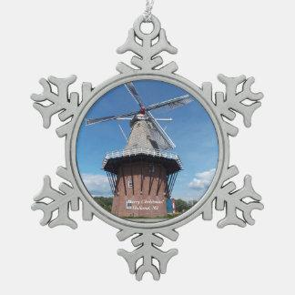 Schneeflocke-Verzierung 1 Hollands, Michigan Schneeflocken Zinn-Ornament