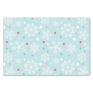 Schneeflocke-Weihnachten Seidenpapier