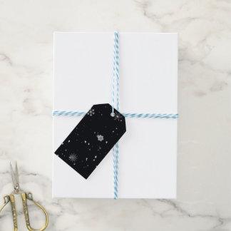 Schneeflocke-Weihnachtsgeschenk-Umbauten Geschenkanhänger