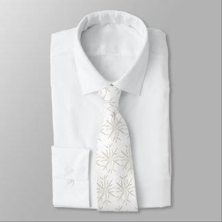 Schneeflocke-WeihnachtsKrawatte Individuelle Krawatte