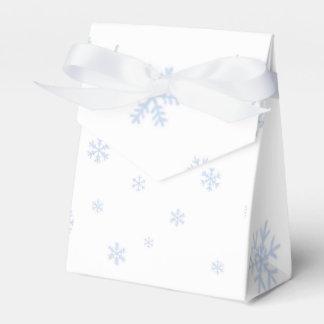 Schneeflocken bokes geschenkschachtel
