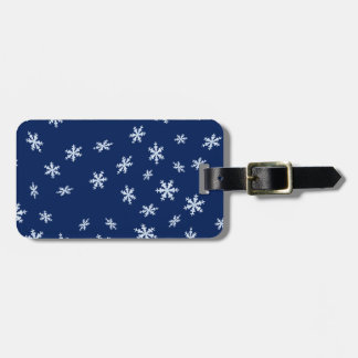 Schneeflocken Gepäckanhänger