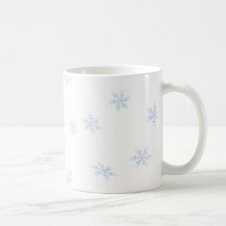 Schneeflocken Kaffeetasse
