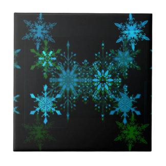Schneeflocken Keramikfliese