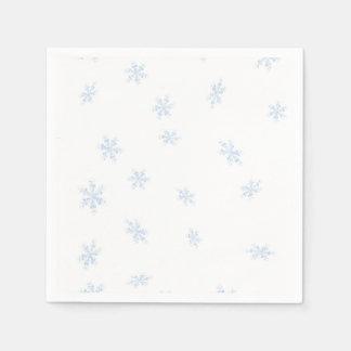 Schneeflocken Servietten