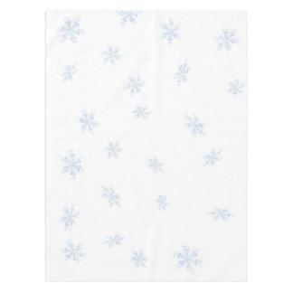 Schneeflocken Tischdecke