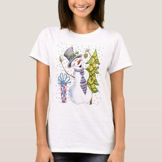Schneemann T-Shirt