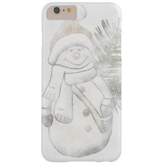 Schneemann-Weihnachtstelefonkasten Barely There iPhone 6 Plus Hülle