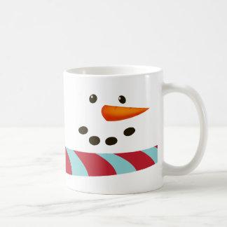 Schneemann, Winter-Wünsche Kaffeetasse