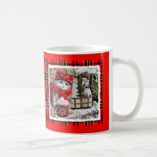 Schneemilch Kaffeetasse