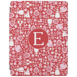 Schneewittchen und Monogramm des Freund-Muster-  iPad Hülle