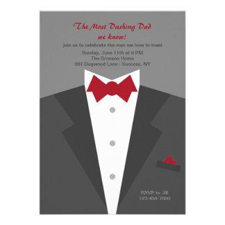 Schneidige der Vatertags-Einladung Vati-
