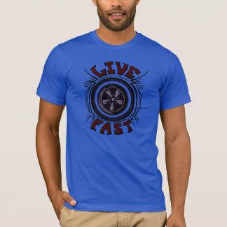 Schnelles Muskel-Auto-lebhaftAuto-Vintages Shirt
