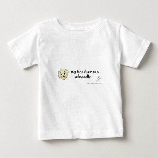 schnoodle baby t-shirt