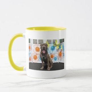 Schnüffler - Neopolitan Mastiff -3 Tasse