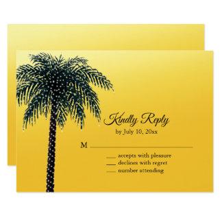 Schnur beleuchtet Palme goldenes UAWG Karte