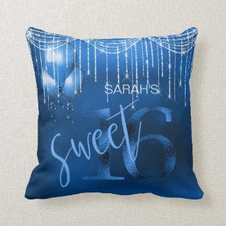 Schnur-Licht-u. Ballon-Bonbon 16 DK blaues ID473 Kissen