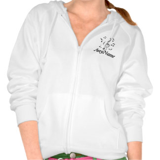 Schnur-Sache-Zipfront redigieren Namen Kapuzensweatshirt
