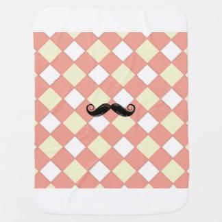 Schnurrbart-Decke Baby-Decke