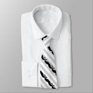 Schnurrbart Krawatte