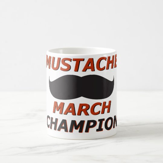 Schnurrbart-Märzmeister Tasse