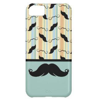 Schnurrbart, schwarze Lenkstange, Geschenk für iPhone 5C Hülle