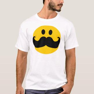 Schnurrbart-smiley (kundengerechte T-Shirt