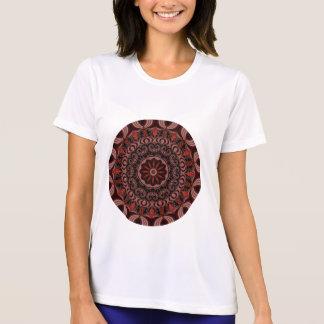 Schokolade, Himbeeren, Pfefferminz-Stock abstrakt T-Shirt